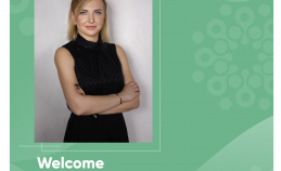 WELCOME NEW GR-MANAGER OF THE UNIC - LARYSA ZHYGUN